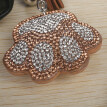 Inverlee The Bear's  Paw Toy  5D Diamond Painting KeyRing Key Chain Pendant Gift