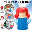 4Colors Metro Angry Mama Microwave Cleaner Steam Cleaners Kitchen Gadget Tools