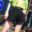 Womens Shorts Summer High Waisted Denim Jeans Femme Push Up Skinny Slim Denim Shorts
