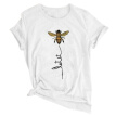 Women's T-Shirts Bee Printed Top
