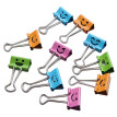40Pcs Smile Metal Binder Clips For Home Office School File Paper Organizer