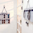 15 Grids Felt Wall Hanging Storage Bag Sunglasses Toy Makeup Organizer Hanging Storage Pouch Bags Case For Door Jewelry