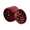 Zinc Alloy Grinding Machine Thin-Screen Herb Grinder Smooth Grind Spice Filter Red