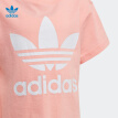 adidas Adidas Short Sleeve Top 2020 Summer Girls Classic Sports Training T-shirt FM5661 Pink 164/Recommended Height 164cm