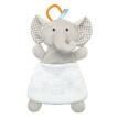 Hanging Toys Baby Appease Towel Cartoon Elephant Lamb Cute Soft Comfort Towel Plush Storage Hangable Candy Bag