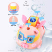 Kids Bubble Pig with 2.4G Watch Remote Control Music Bubble Machine