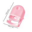 Mini Plastic Eyelash Curler Portable Eye Lashes Curling Clip Women Makeup Tool Pink