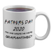 Coffee Cup Reusable Coffee Tea Mug Father's Day 2020 The One Where We Were Quarantined Perfect Gift for Parents
