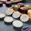 Mid-Autumn Festival Moon Cake Making Mould Ice Rind Green Bean Cake Domestic Use Hand Pressure Type Non-Stick Eco-Friendly ABS Moo