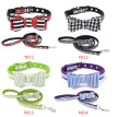 1111Fourone Microfiber Pet Walking Rope Leash Small Medium Large Pets Harness Leash Running Safe Belt Collar Long Lead Leash