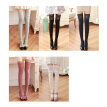 Sexy Thigh High Socks Comfortable Keen High Leg Stocking Lace-Decor for Women (White)