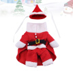 Christmas Standing Coat Pet Costume Funny Cosplay Clothes for Puppy Dog (Size XL)