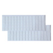 70PCS Household Acrylic Ultra Sticky Seamless Pad Non-slip Clear Double-side Gripping Pads Waterproof For Home