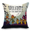 Halloween Pillowcase Soft Comfortable Zippered Cushion Cover for Cars Beds