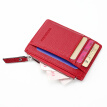 Mens Womens Leather Mini Wallet ID Credit Card Holder Case Organizer Purse