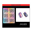 Nail Art Transfer Stickers Design Hollow Manicure Tips Decal Decoration