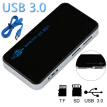 USB3.0 All-in-1 Compact Flash Multi Memory Card Reader Adapter High Speed Supports MS M2 CF XD TF Memory Cards