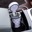 Car Accessories Portable LED Light Car Ashtray Universal Cigarette Cylinder Holder Car Styling