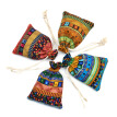 TureClos 12pcs Ethnic Style Drawstring Gift Bag Cotton Reusable Jewelry Coin Pouches Candy Wedding Party Travel Purse