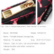 Mnycxen Cosmetic Makeup Brush Bag Case Holder Multifunction Portable Pocket Jewelry Bag