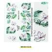 1Pcs 6D Engraved Flower Acrylic Nail sticker Nail Stickers Embossed Flower Water