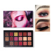 Natural Long Lasting Cosmetic Makeup 18 Colors Eyeshadow Palette Shimmer Matte Chrome Pigmented Pressed Eyes Shadow