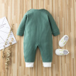 Baby Boy Clothes Romper Long Sleeves Green Newborn Baby Rompers Toddler Kids Outfits Baby Costume Girls Romper