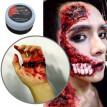 Thick Blood 1 Oz Fake Blood Professional Face Body Paint Oil Fake Clot Blood Gel Makeup Blood Gel Vampires Scars Halloween Bruis