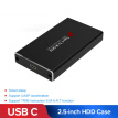 USB3.1 Type C to MSATA to USB 3.0 SSD Enclosure MSATA SSD Case Hard Disk Box External Mobile Case Cable