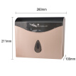Bathroom Tissue Dispenser Wall Mounted Toilet Paper Holder ABS Plastic WC Paper Towel Box