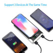50000mah Power Bank Qi Wireless Charging 2 USB LCD LED Portable Wireless Charger External Battery For Xiaomi Samsung iphone XS