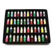 Mnycxen Nail Art 48 Colors Glitter Decoration Tips For Uv Acrylic System Tips Kit Set
