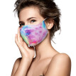 Csengfiy 3PC Fashion Adult Men And Women  Washable  Tie-Dyed Gradients Outdoors Mask