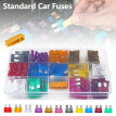 150x CAR STANDARD FUSE BLADE FUSES ASSORTED SET 2 3 5 75 10 15 20 25 30 35 40 A