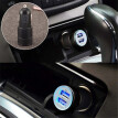 5V 3.1A Mini Dual 2 Port USB Car Charger Adapter for Smart Mobile Cell Phone