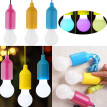 Portable LED Pull Cord light Bulb Outdoor Garden Camping Hanging LED Light Lamp