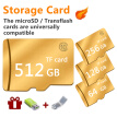Golden Neutral High Speed Memory Card 80mb Micro SD SDHC Memory Card with Card Reader Card Cover 8GB 16GB 32GB 64GB