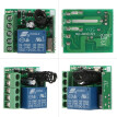 Smart Home 433Mhz DC 12V 1CH Wireless Remote Switch Relay Receiver Transmitter Universal Remote Control Switch Module and RF Trans