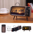 Portable Retro Mini TV Holder Design Mobile Phone
