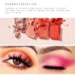 New Charming Eyeshadow 16 Color Palette Make up Palette Matte Shimmer Pigmented Eye Shadow Powder