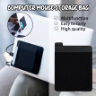 Toyfunny Tablet PC Mouse Sticker Universal Tablet PC Storage Bag Elastic Storage Bag