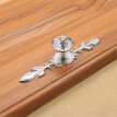 Glass Diamond Crystal Dresser Knobs Drawer Furniture Pull Handle Cabinet Door