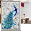 Home Decor Diamond Painting Cross Stitch Paint Embroidered Diamond Paste Make Oil-peacock Diamond Mosaic Crafts Home Decor Photo