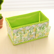 Multifunctional Folding Non-woven Make Up Cosmetic Storage Box Organizer Jewelry Container Bag Case (Green)