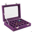 Jewelry Box, Portable Large Capacity Jewelry Storage Box for Ring Bracelet Earrings