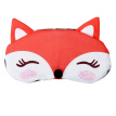 Men And Women Ice Pack Hot Cartoon Little Fox Eye Shadow Sleep Eye Mask