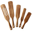MIARHB 5pcs Solid Wood No Paint No Wax Rice Spoon Rice Cooker Special Rice Spatula