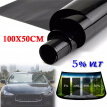 100x50cm New Car Home Window TINT 5%VLT Black Film Foil Sticker Decal+Scraper