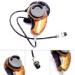 HG-M84W Microphone Woodgrain Noise Canceling Speakers For Cobra Uniden CB-radios