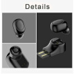 Mini Wireless 4.1 Bluetooth Earphone Earbud USB Magnetic Charging Headphone New